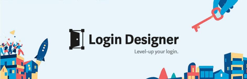可视化WordPress后台登录界面美化插件:Login Designer