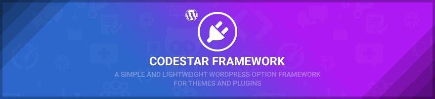 WordPress 主题选项框架 Codestar Framework